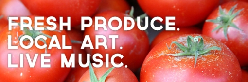 denton community market. fresh produce. local art. live music.